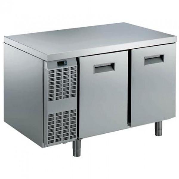 MEUBLES RÉFRIGÉRÉS ET SALADETTES - Table réfrigérée Benefit-Line 2 portes -2°C/+10°C Inox AISI