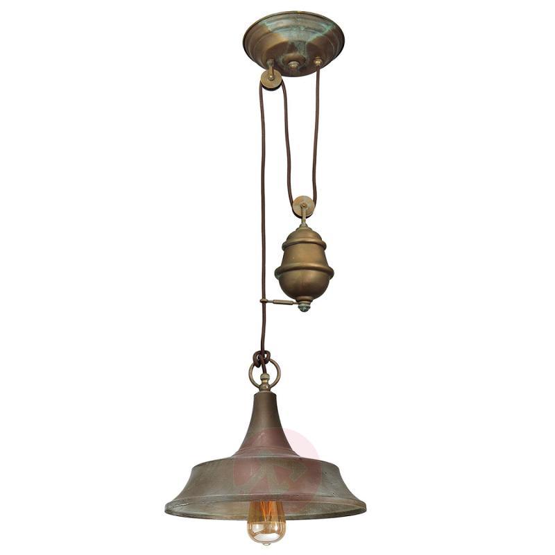 Height-adjustable pendant lamp Garza - design-hotel-lighting
