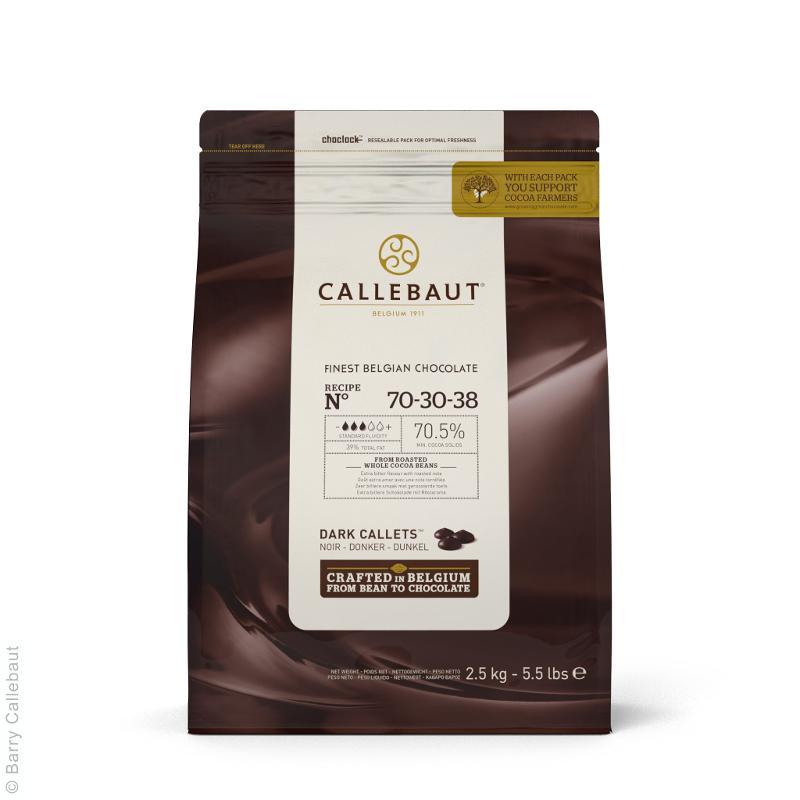 Cioccolato Fondente di Copertura 70% 2,5 kg - Alimentare - Cioccolato e caramelle