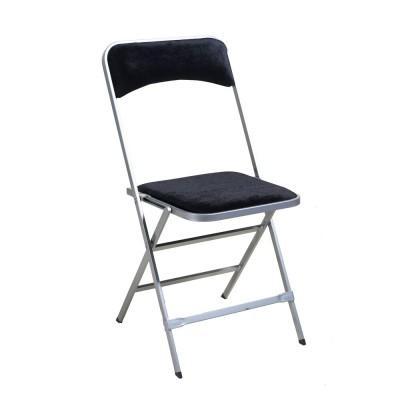 Location de chaise pliante argent - Velours - null
