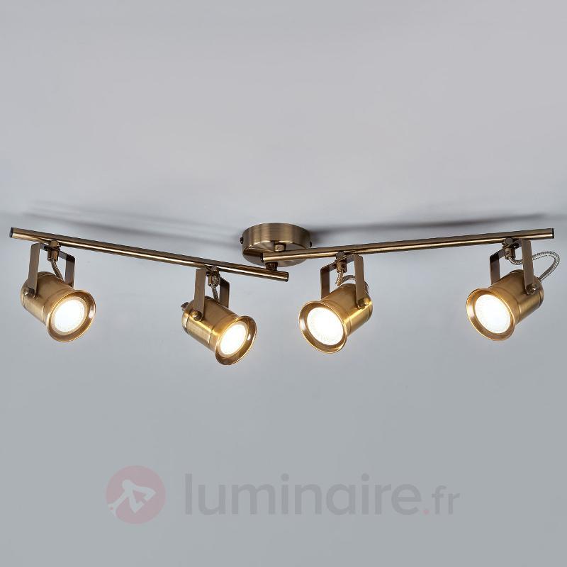 Plafonnier GU10 à quatre lampes Marlis - Tous les spots et projecteurs