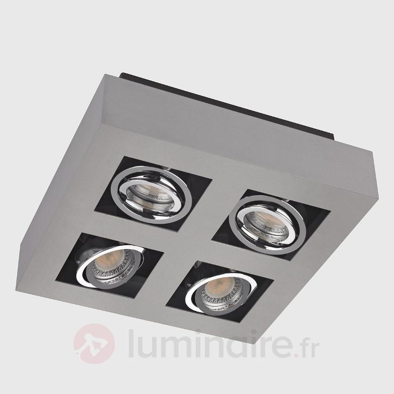 Plafonnier LED Vince à 4 lampes - Tous les plafonniers