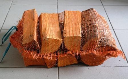 Brennholz - in Säcken
