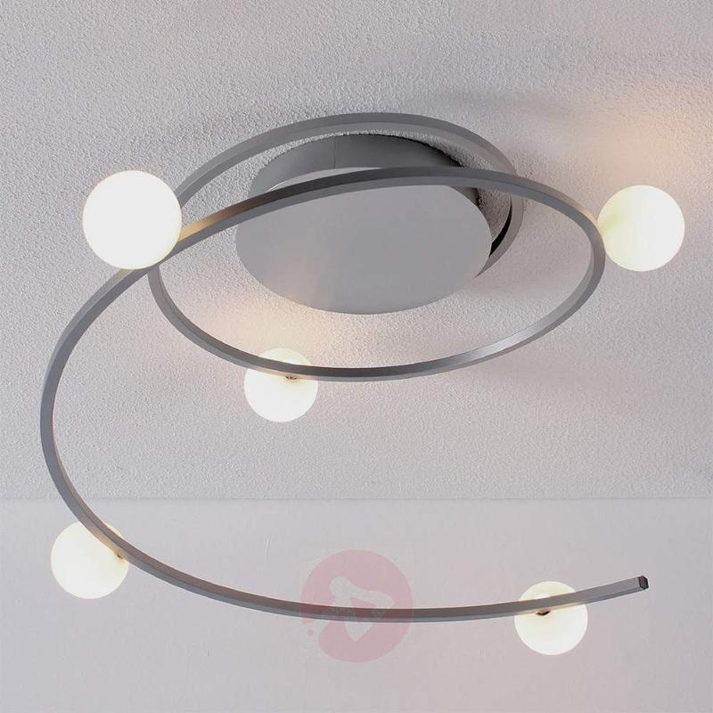 Bluetooth-controlled LED ceiling light Loop - Remote Control Lighting