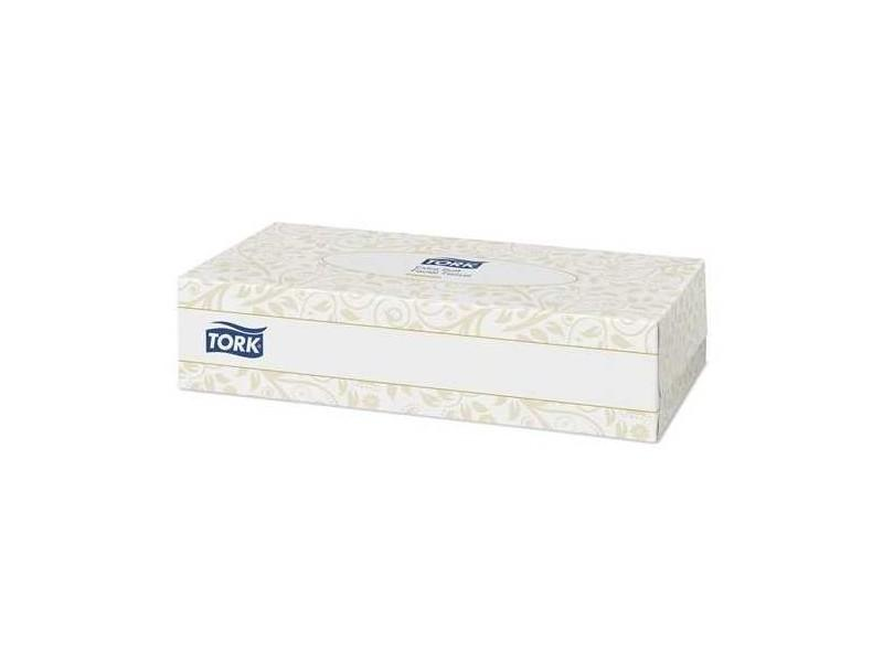 100 Mouchoirs Jetables 2 Plis Blancs Tork - X30 Boîtes - Mouchoirs et essuie-tout