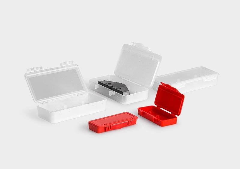 UniBox per Inserti Spade Drills - Scatole in plastica