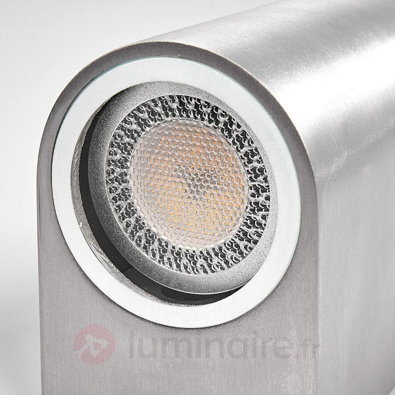 Applique d'extérieur Idris à 2 lampes, aluminium - Toutes les appliques d'extérieur