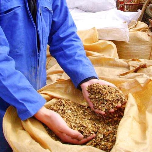 Medicinal plants - Crushed gentian root (radix gentianae)