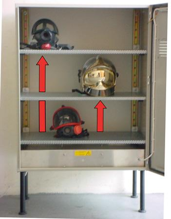 Equipements / Bagagerie Mobilier - ARMOIRE DE SECHAGE ET DESINFECTION