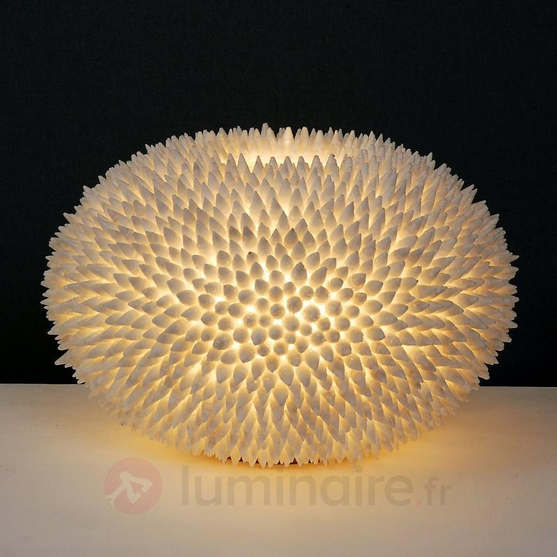 Extravagante lampe à poser Sirena Bianco - Lampes à poser designs