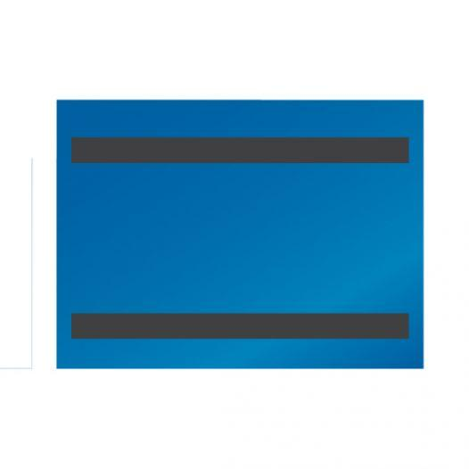 Magnetic folder - with 1 or 2 magnetic stripes