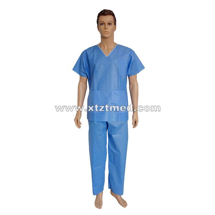 SMS NonWoven Scrub Suits -