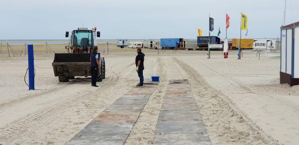 Strandfahrplatten - Strand-Fahrplatten