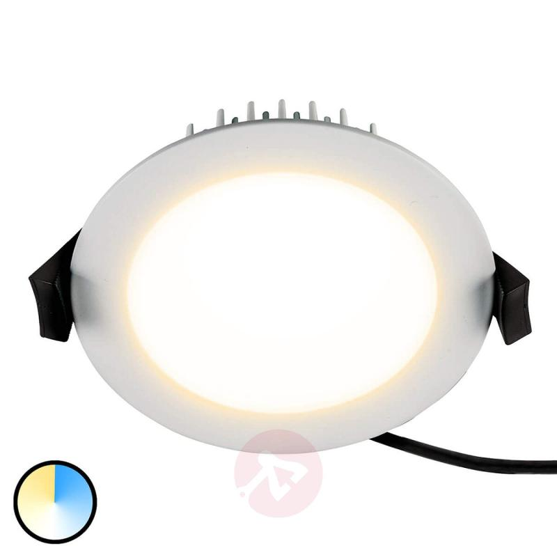 Practical LED recessed light Lino, 13 W - indoor-lighting