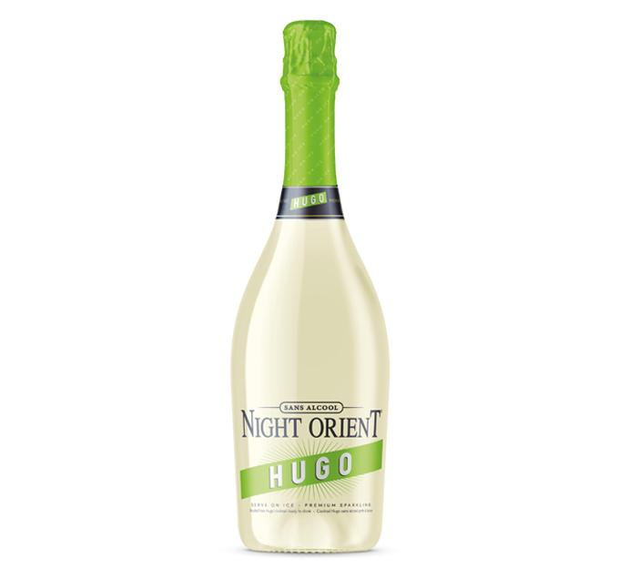 Night Orient Hugo - cocktail sans alcool
