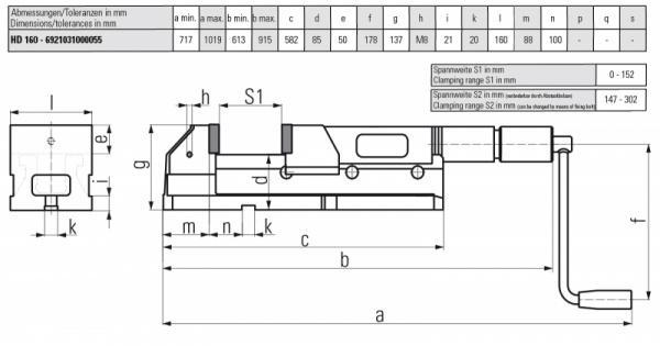 ALLMATIC HD 160 - Geeignet für schwere Zerspanung, Einzelstücke und Kleinserien
