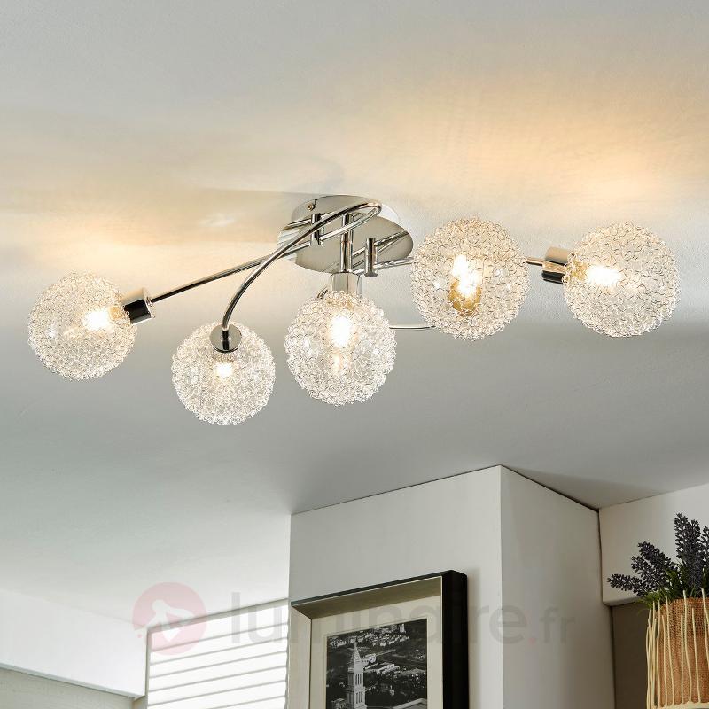 Plafonnier LED Ticino de forme pleine de fantaisie - Plafonniers LED