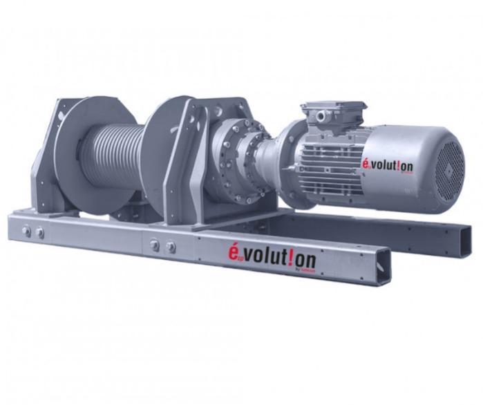 Cabrestante eléctrico de cable EspVOLUTION - Cabrestantes eléctricos de gran calidad y potencia