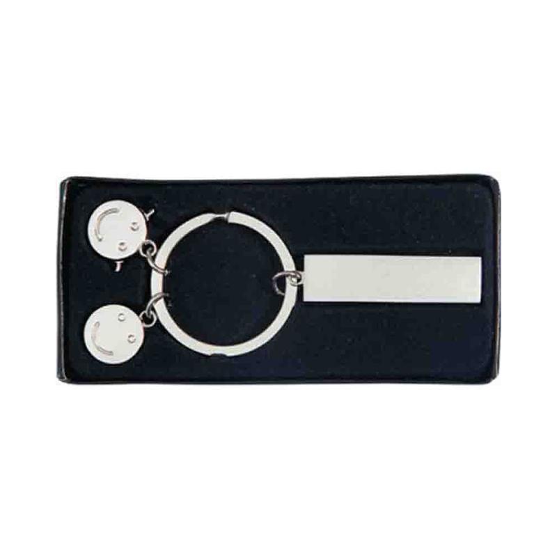 Porte-clés breloque métal - Porte-clés métal