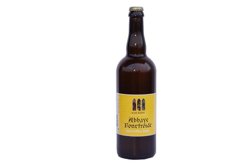 Bière blonde de l'Abbaye de Fontfroide 75CL - Boissons