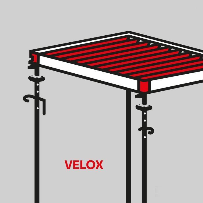 VELOX slab formwork systems - VELOX slab formwork system with girder