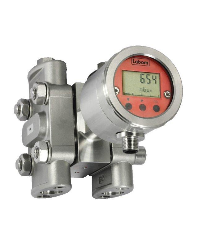 Differential pressure transmitter PASCAL CV3, modular design - Modulare differential pressure transmitter with metallic diaphragm