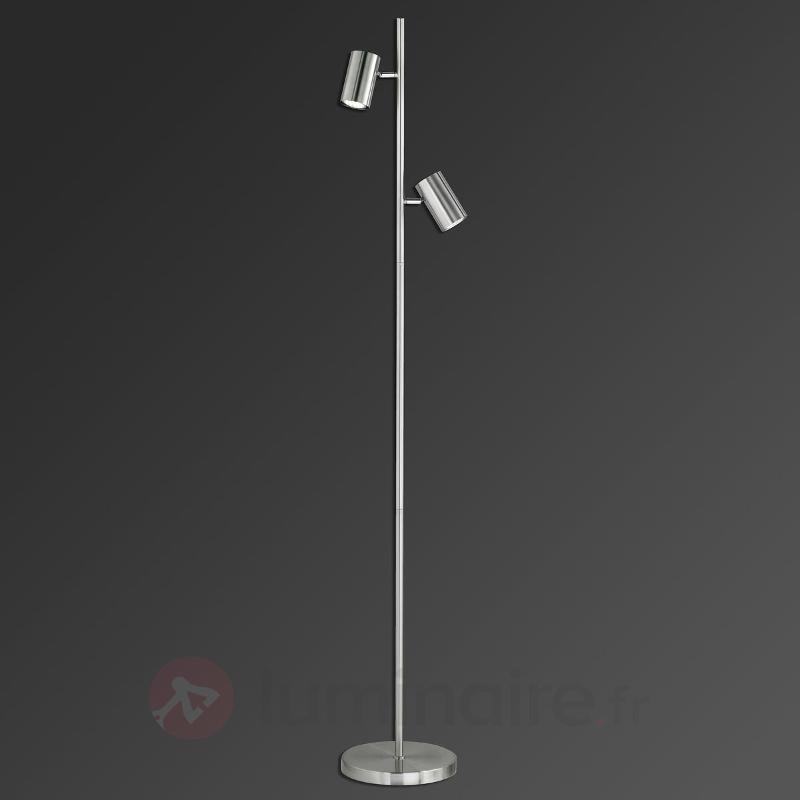 Lampadaire Dora à deux spots inclinables - Tous les lampadaires