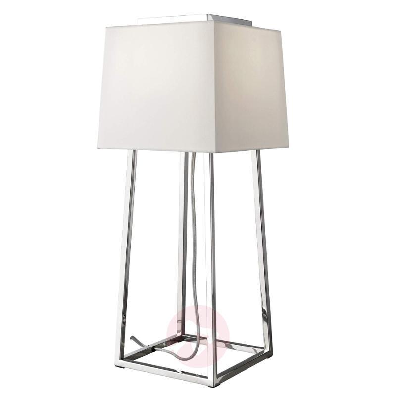 Stylish table lamp Copenhagen, angular - design-hotel-lighting