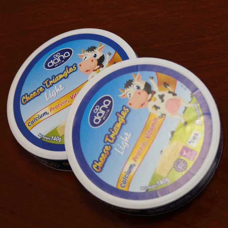 DANA Cheese - Creamy Soft Processed Preportioned Spreadable