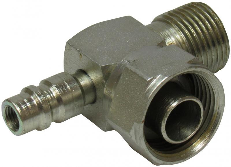 "EVL-AC 1""-14 / 7/8-14 serv.valve 13mm - Service valves"