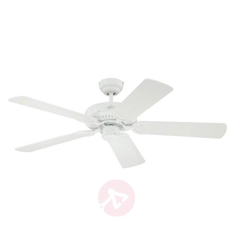 White Monarch ceiling fan - fans