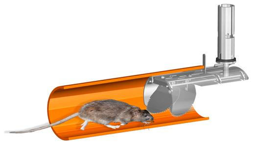 Metex & Nordisk rat blockers - Stainless steel blockers for total prevention of entry by rats via the drains