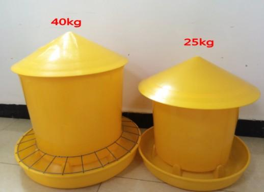 25kg plastic chicken feeding pan,trough,bucket -  chicken,duck,goose feeding pan