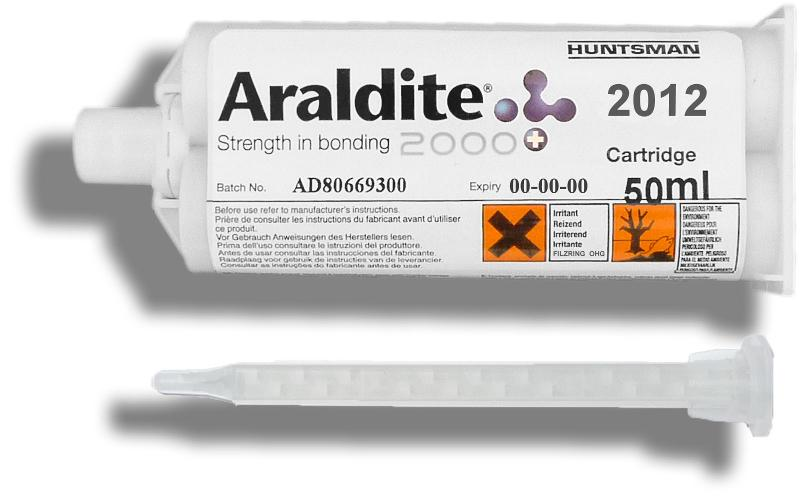 Araldite 2012   50 ml Doppelkartusche mit ZMS - ARA-2012-50