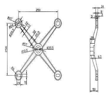 Spider Fitting - JSF-8140