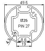 Profilés - ronds - profiles rd2-455