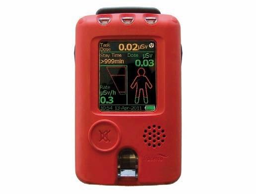 Dozymetr osobisty PED-IS  - dawkomierz, dozymetr, radiometr