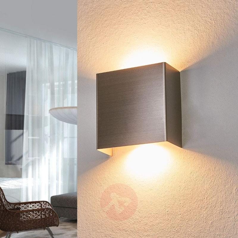 Enja metal LED wall light - Wall Lights