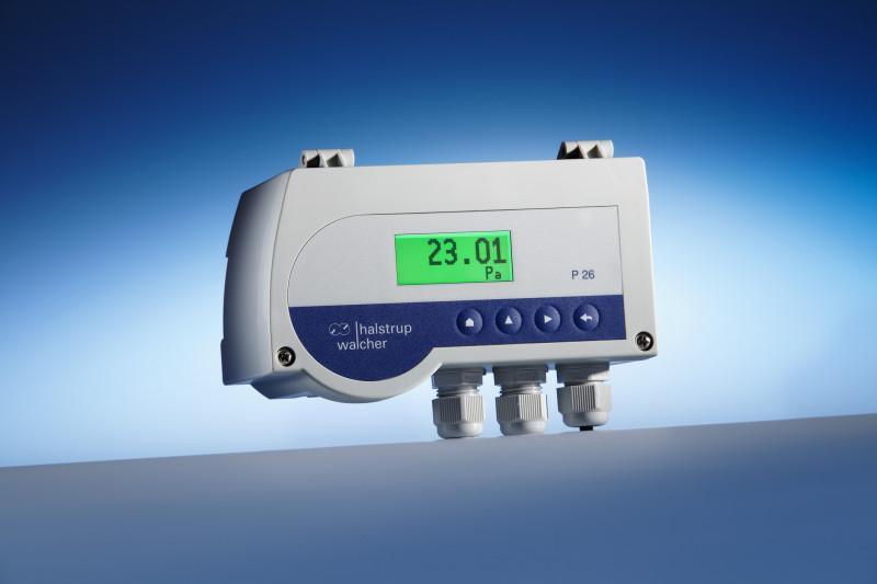 Trasduttore di pressione differenziale P 26 - Trasduttore di pressione differenziale con campo di misura programmabile