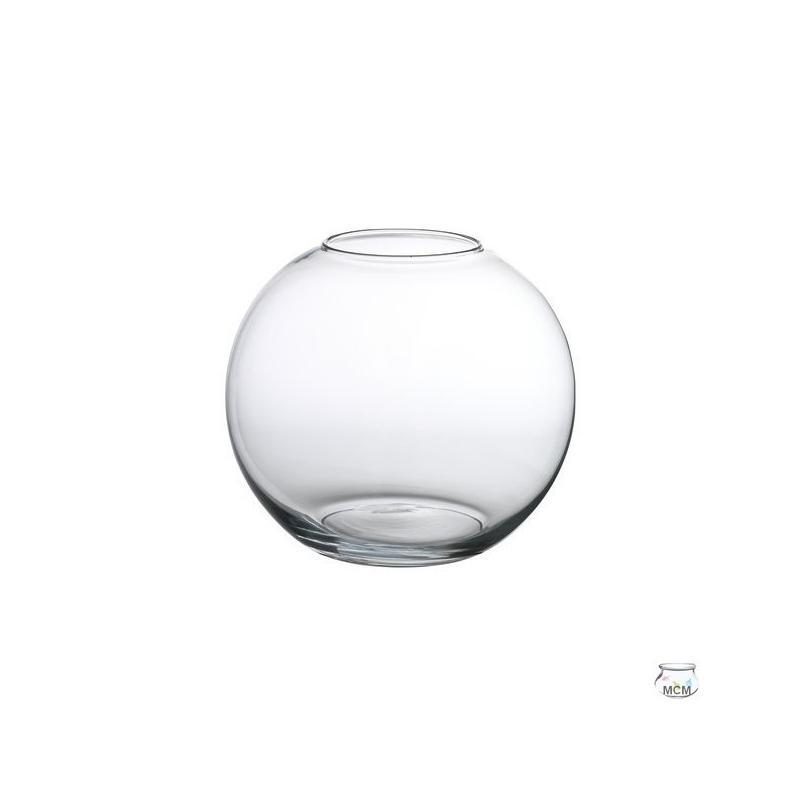 Aquarium à poissons, forme boule 18 cm, 3 litres - Vases, Lanternes, décoration