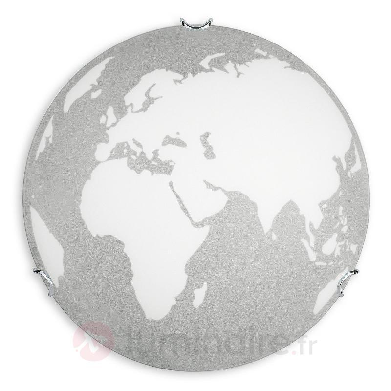 Earth - plafonnier en verre - Plafonniers en verre