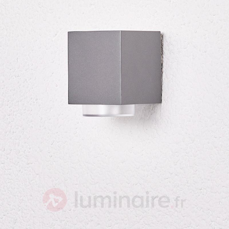 Jovan - applique d'extérieur en gris foncé - Toutes les appliques d'extérieur
