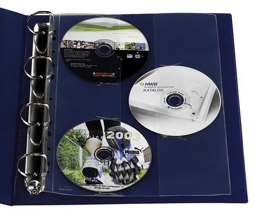 Zeigetaschen / Prospekthüllen für CDs - null