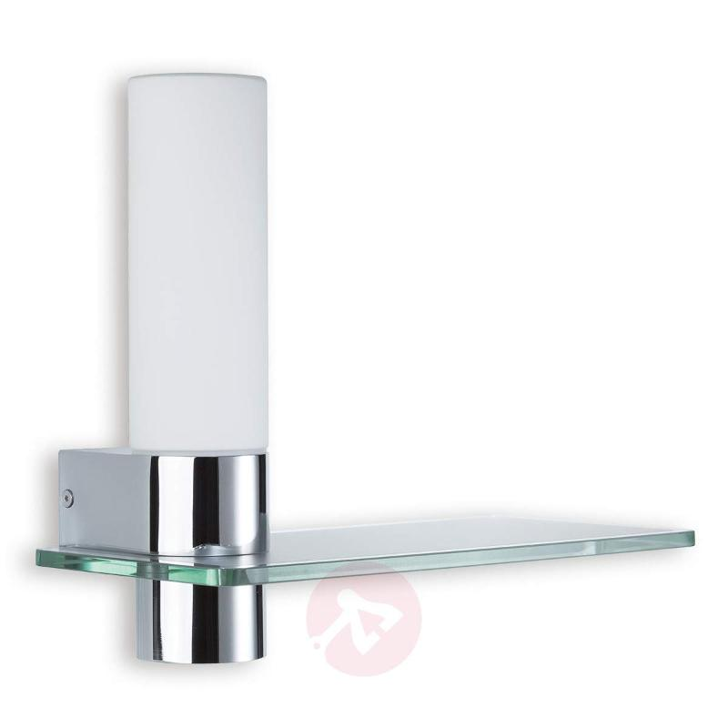 Asterion LED mirror light and practical shelf - Wall Lights