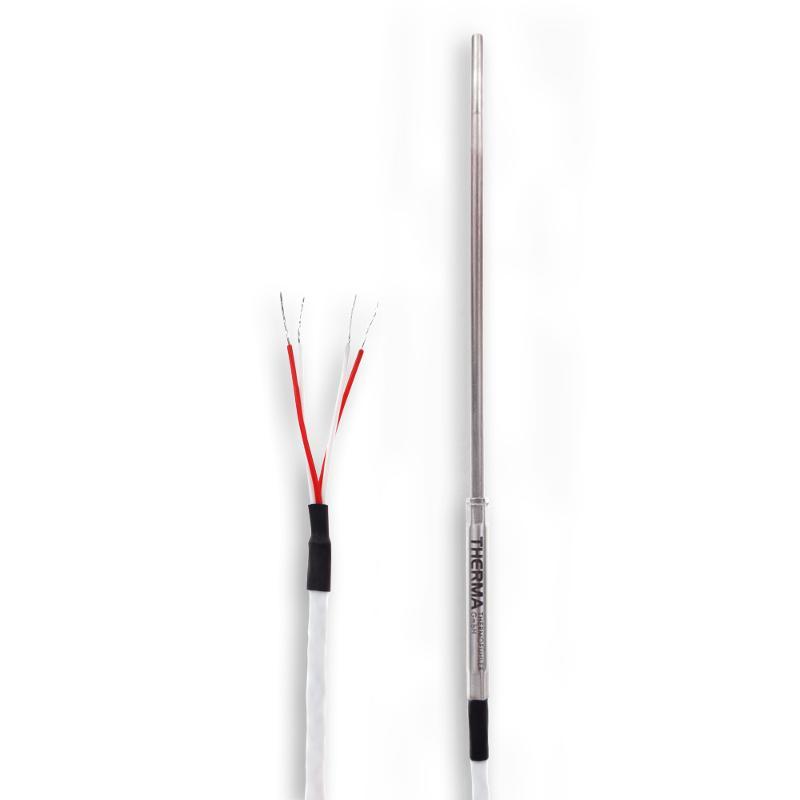 Sheathing   Teflon   Pt1000 - Sheathing resistance thermometer