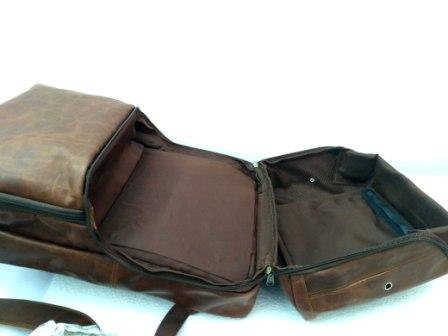 Leather Backpack - Leather Back with
