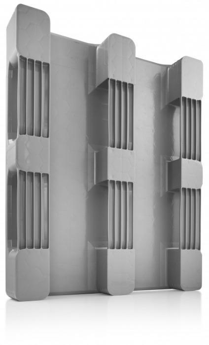 TC3 / TC3-5 - Paleta de plástico, Palets de plástico con parte superior cerrada