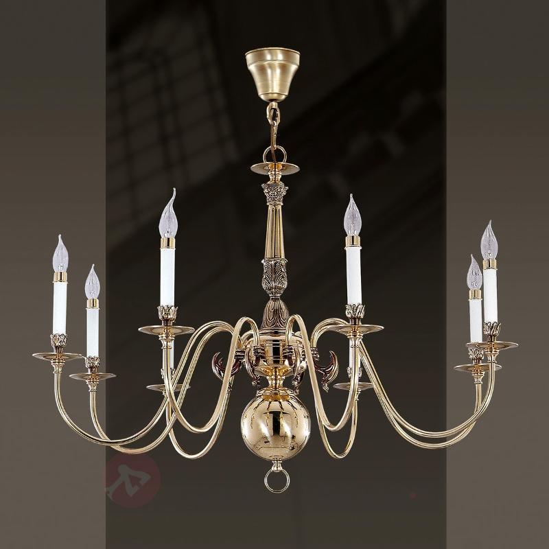 Lustre à 8 lampes HOLANDESAS - Lustres classiques,antiques