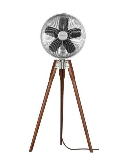 CASA BRUNO Arden Tripod ventilador oscilante de pie, níquel  -