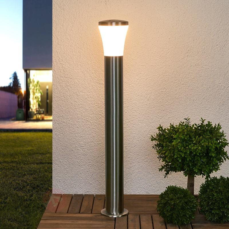 Éclairage pour chemin inox LED Sumea - Bornes lumineuses LED